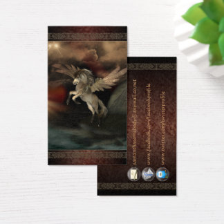 Cartes de profil d'art d'imaginaire de Pegasus