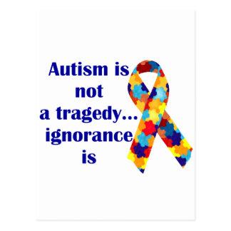Cartes de soutien d'autisme, annonces