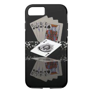 Cartes de tisonnier avec des puces coque iPhone 7