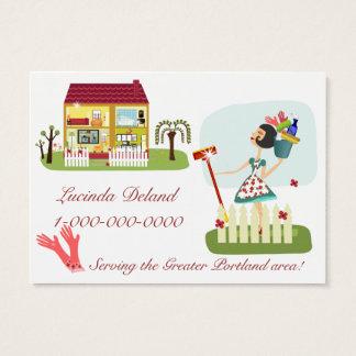 Cartes De Visite Affaires de ménage