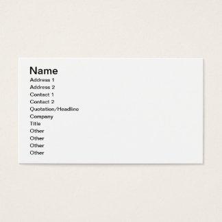 Cartes De Visite Affection maternelle (huile sur la toile)