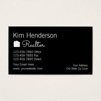 Cartes De Visite Agent immobilier chic Businesscards
