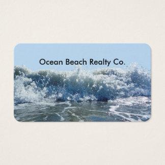 Cartes De Visite Agent immobilier d'immobiliers de plage