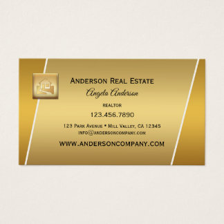 Cartes De Visite Agent immobilier professionnel Businesscard de