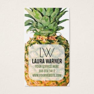 Cartes De Visite Ananas
