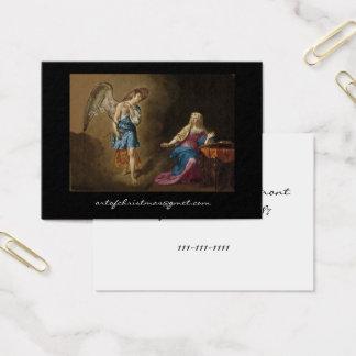 Cartes De Visite Ange et Mary d'annonce