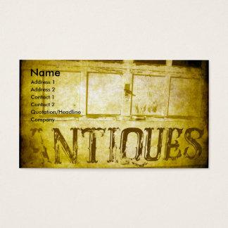 Cartes De Visite Antiquités