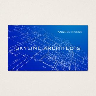 Cartes De Visite Architecte, constructeur, le Général Contractor