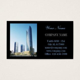 Cartes De Visite Architecte moderne de construction de bricoleur de