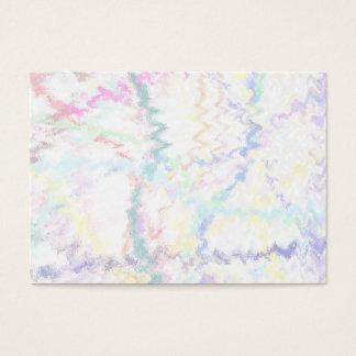 Cartes De Visite Arrière - plan abstrait de pastel
