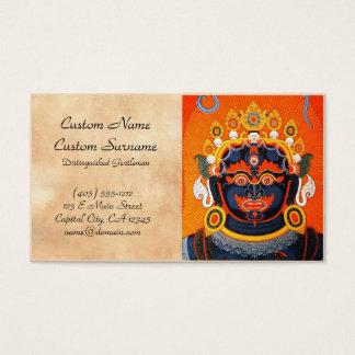 Cartes De Visite Art tibétain oriental frais de tatouage de