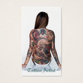 Cartes De Visite Artiste de tatouage