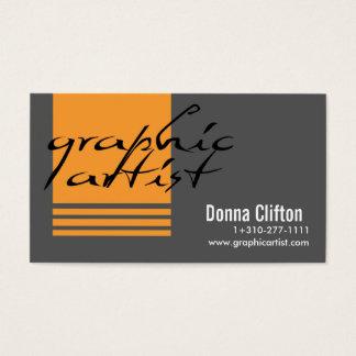 Cartes De Visite Artiste graphique