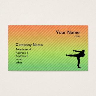 Cartes De Visite Arts martiaux