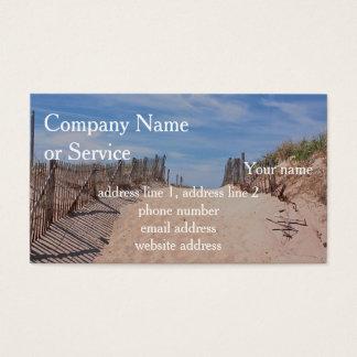 Cartes De Visite Au delà des dunes