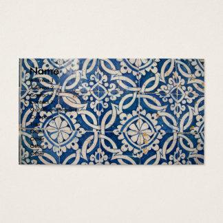 Cartes De Visite Azulejo portugais vintage