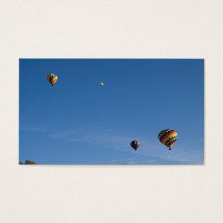 Cartes De Visite Ballons à air chauds