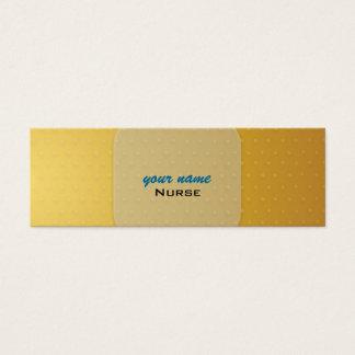 Cartes de visite Bandaid d'infirmière