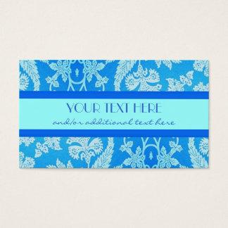 Cartes De Visite Beau bleu