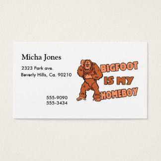 Cartes De Visite Bigfoot est mon Homeboy