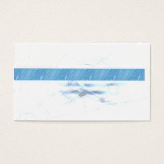 Cartes De Visite Bleu conservateur