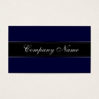 Cartes De Visite Bleu marine élégant de simplicité