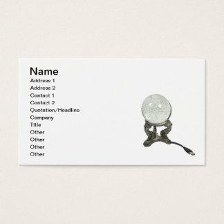 Cartes De Visite Boule de cristal d'USB