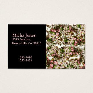 Cartes De Visite Bouquets vintages roses de fleur