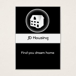 Cartes De Visite Businesscards d'immobiliers