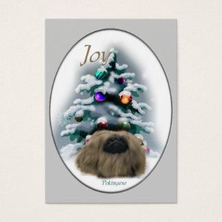 Cartes De Visite Cadeaux de Noël de Pekingese