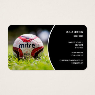 Cartes De Visite Cadeaux de sports du car | du football