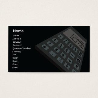 Cartes De Visite Calculateur de gestion