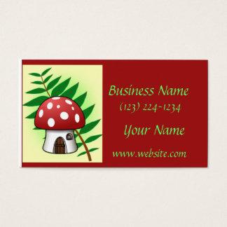 Cartes De Visite Chambre de champignon