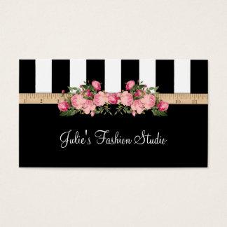 Cartes De Visite Chambre modèle de couture de studio de mode