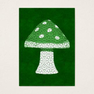 Cartes De Visite Champignon vert