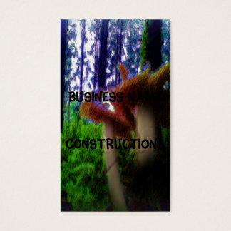 Cartes De Visite Champignons dans la forêt