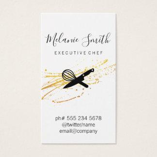 Cartes De Visite Chef exécutif