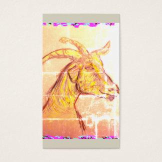 Cartes De Visite Chèvre