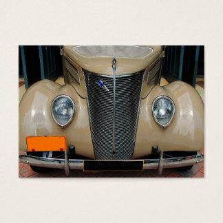 Cartes De Visite Conception classique de voiture
