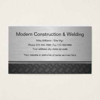 Cartes de visite soudure personnalis es for Carte visite construction