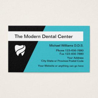 Cartes De Visite Conception dentaire moderne de bureau