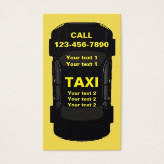 Cartes De Visite Conception fraîche de transport de taxi
