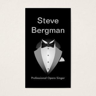 Cartes De Visite Concert professionnel de théâtre d'homme de