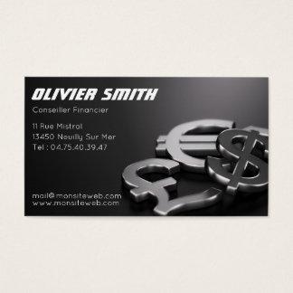 Cartes De Visite Conseiller Financier