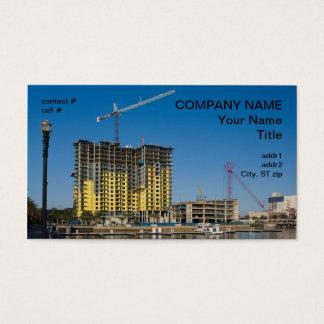 Cartes De Visite construction d'appartement de bord de mer