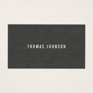 Cartes De Visite Consultant en matière gris blanc de texture