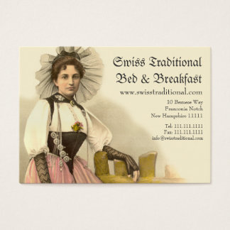 Cartes De Visite Costume traditionnel suisse Berne