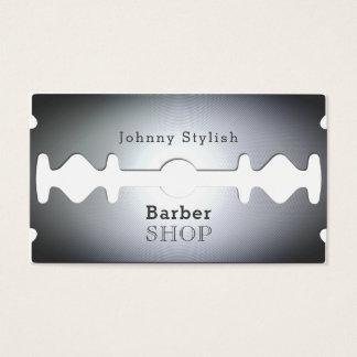 Cartes De Visite Couverture inspirée par salon de coiffure de lame