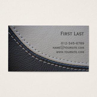 Cartes De Visite Cuir