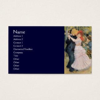 Cartes De Visite Danse chez Bougival par Renoir